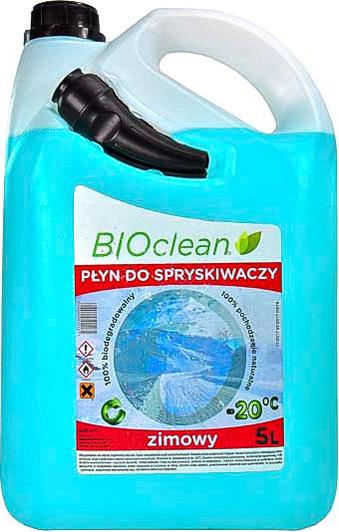 Омыватель стекла зимний (-20) BIOCLEAN 5л