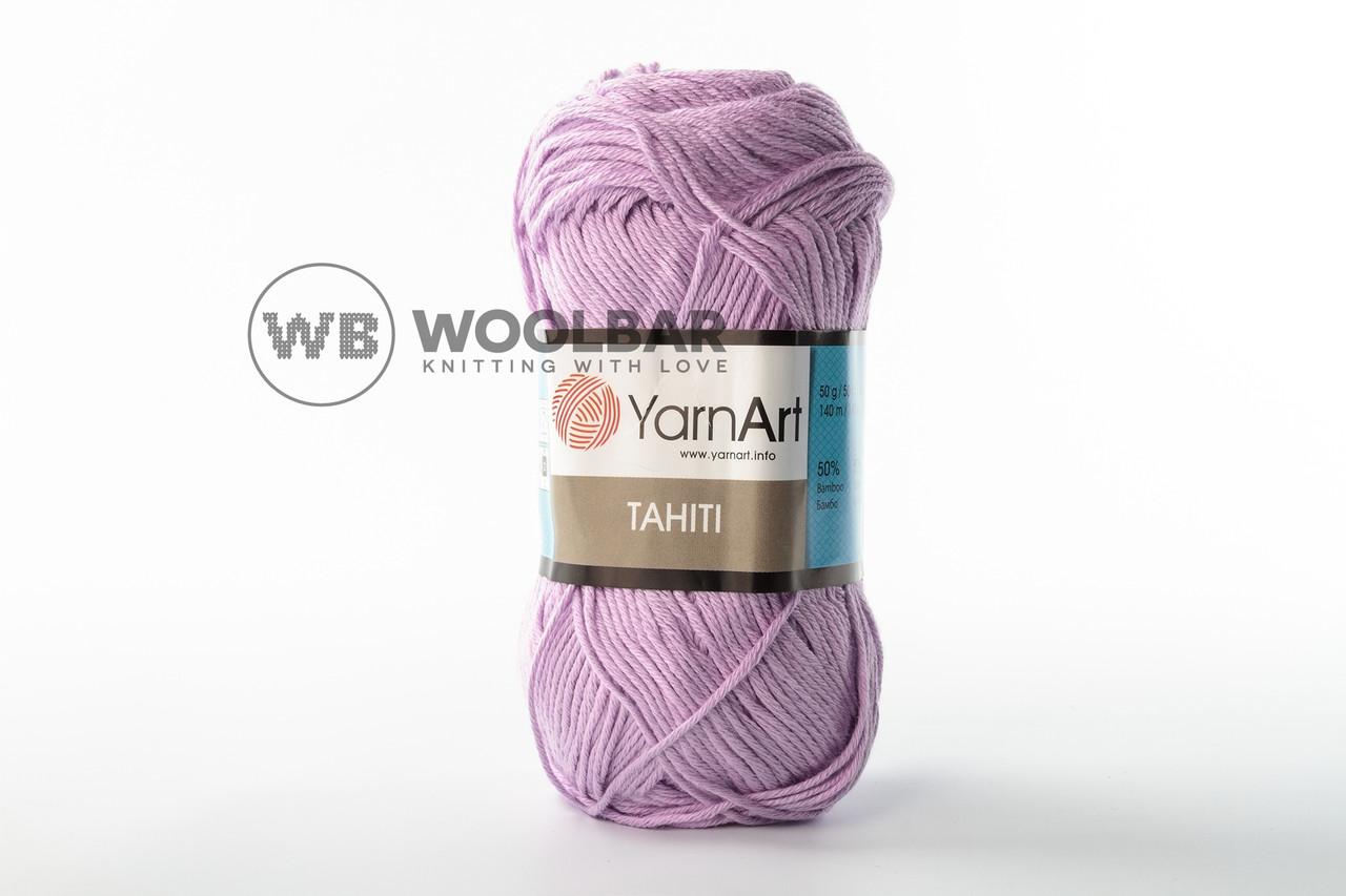 Пряжа YarnArt Tahiti 222 бледная сирень