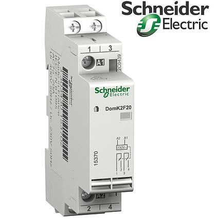 Контактор домовой DomK2F20 Schneider Electric (15370), фото 2
