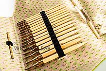 Addi Click Bamboo 550-2 Набор бамбуковых спиц для комбинирования 3,5 - 8 мм