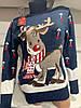 Женский турецкий свитер с оленем Gerekli 4598 (в расцветках 42-46), фото 4