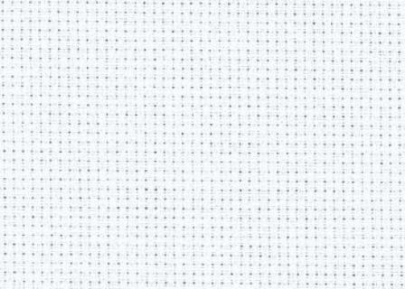 Aida №14 канва для вишивання 32х45 см білий