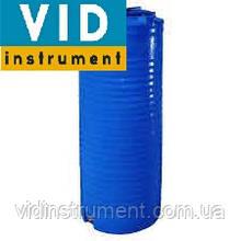 Емкость узкая вертикальная двухслойная 300 литров
