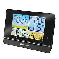 Цифровая метеостанция с выносным датчиком Bresser MeteoTrend Colour Black
