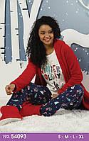 Жіноча тепла піжама Siyah Inci 54093