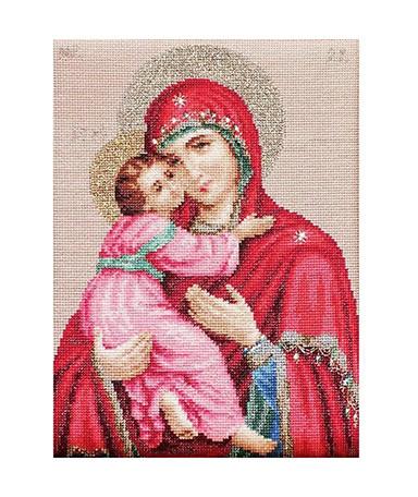 """Luca-S """"Владимирская Икона"""" BR112 набор для вышивания крестом"""
