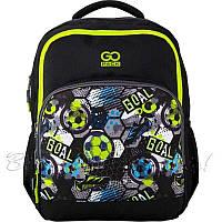 Рюкзак для школи GoPack Education 113-8 Play football, для хлопчиків, чорний (GO20-113M-8)