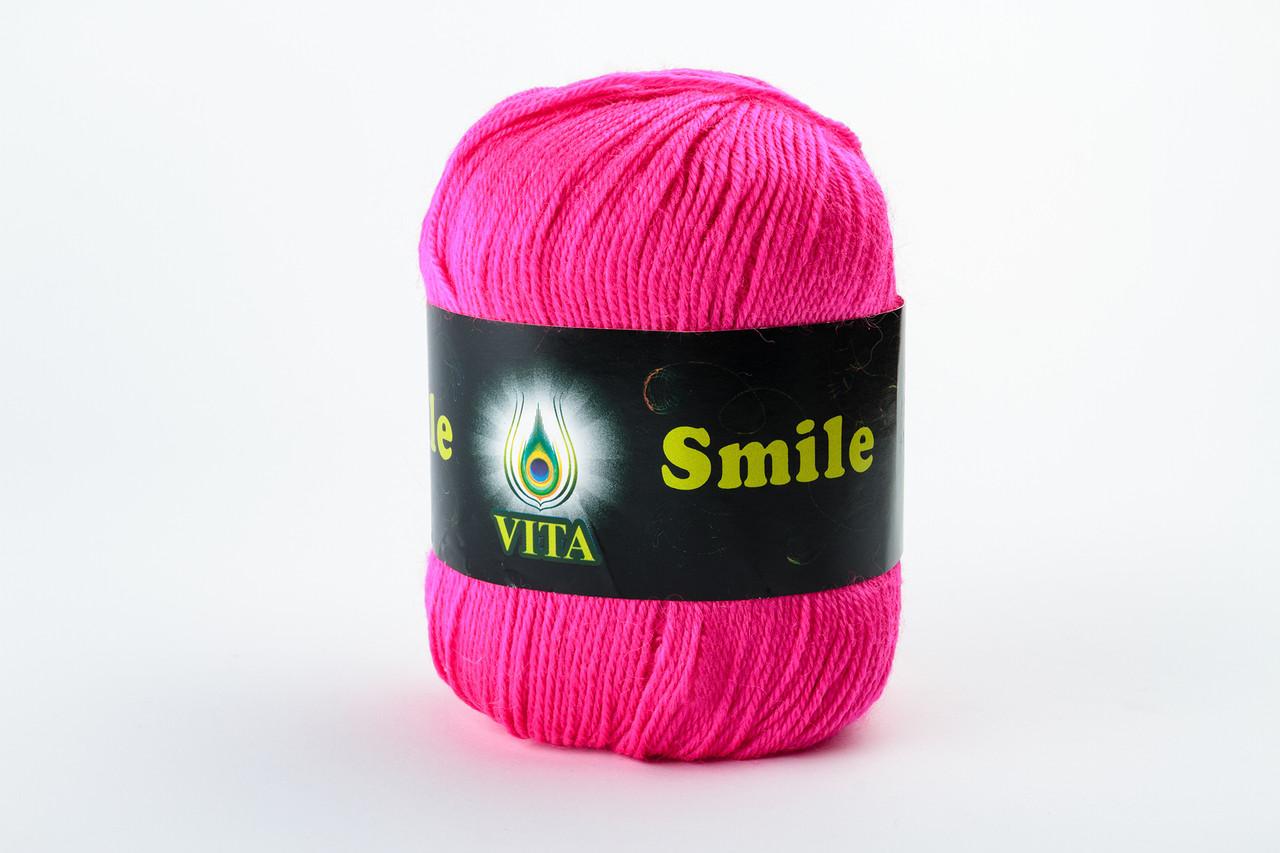 Пряжа Vita Smile 3511 ультра-малиновый