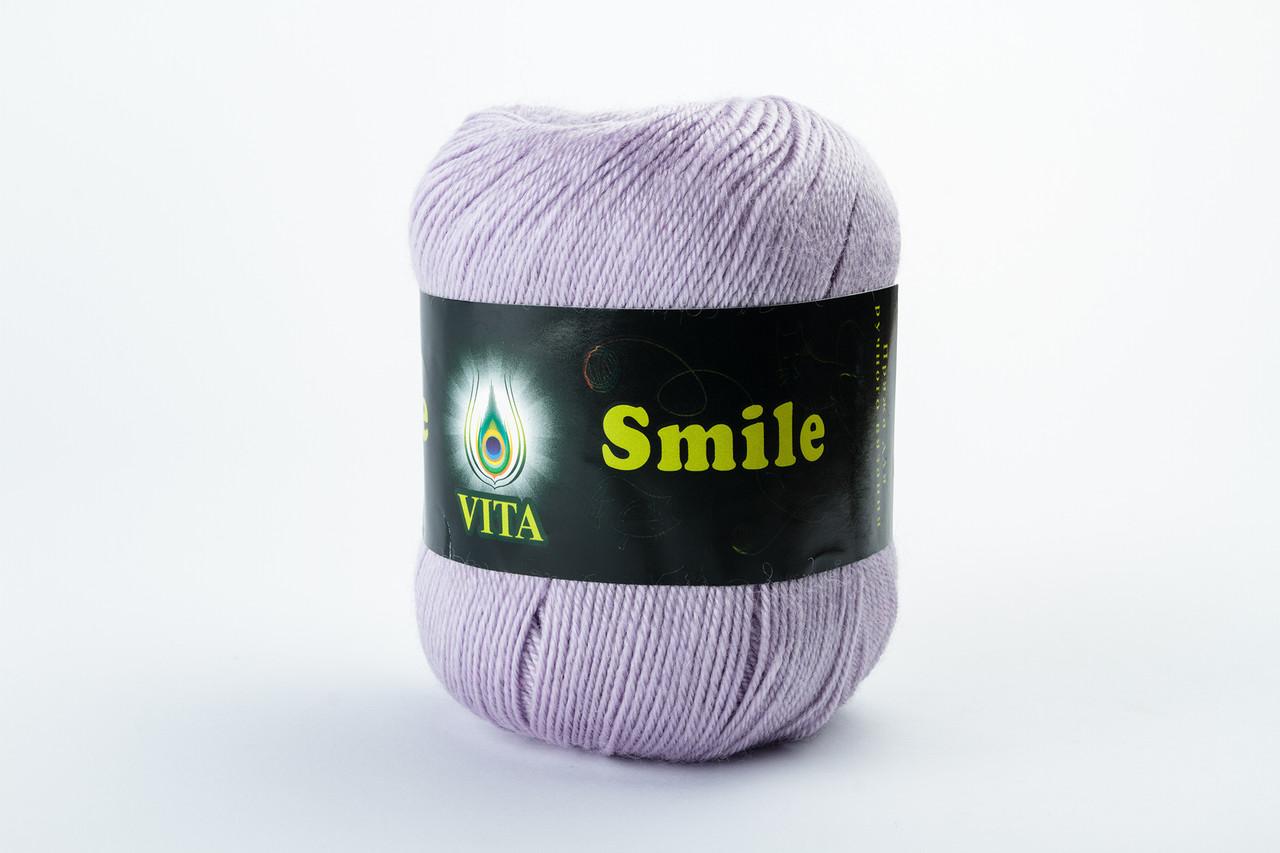 Пряжа Vita Smile 3512 светло-сиреневый