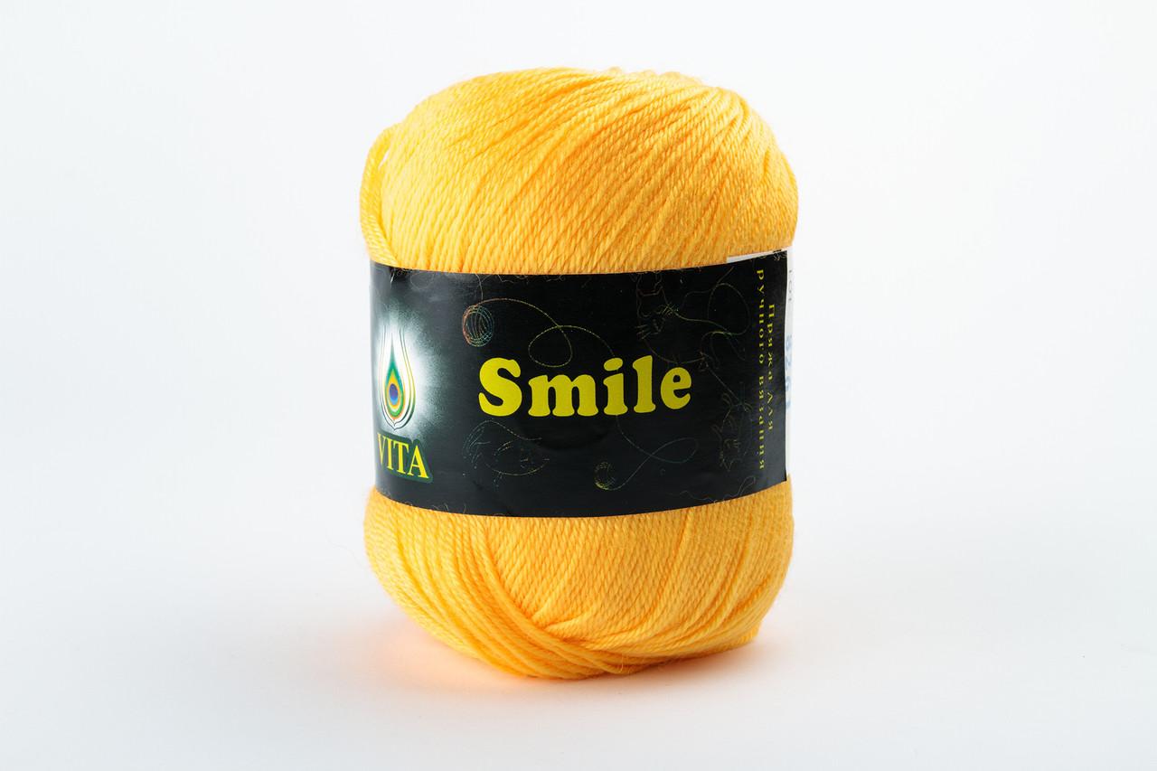 Пряжа Vita Smile 3519 желтый