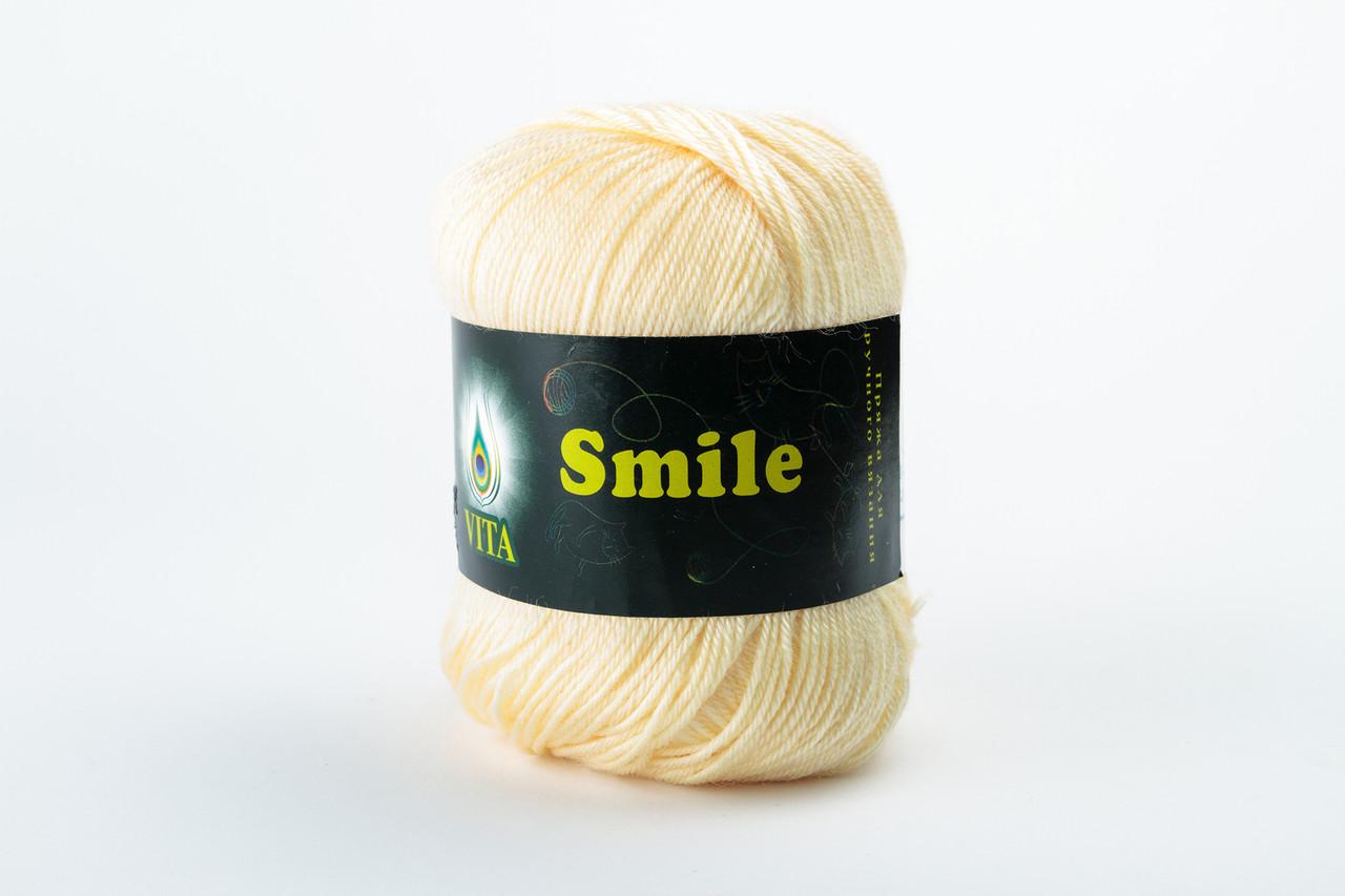 Пряжа Vita Smile 3521 экрю