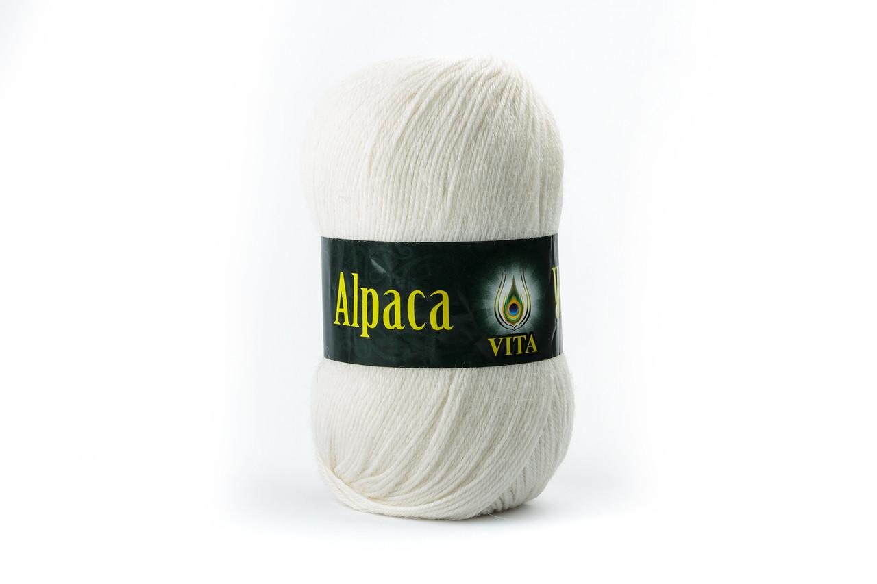 Пряжа Vita Alpaca wool 2951 белый