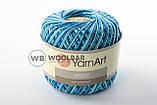 Пряжа YarnArt Violet Melange 12 коричнево-оранжевый меланж, фото 9