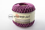 Пряжа YarnArt Violet Melange 17 коричнево-бежевый меланж, фото 8