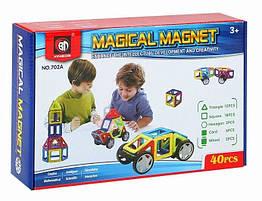 Магнитный конструктор Magical Magnet 40 деталей. Maya Toys 702A