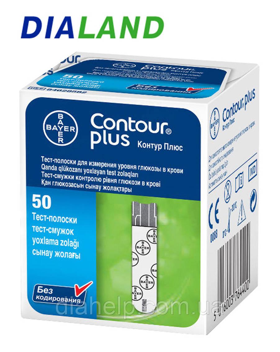 Тест-полоски Контур Плюс(CONTOUR™ Plus) 50 штук