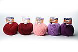 Пряжа Mondial Merinos Extra 0754 фиолетовый , фото 5