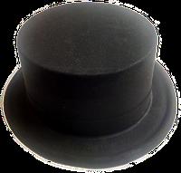 Шляпа цилиндр пластик
