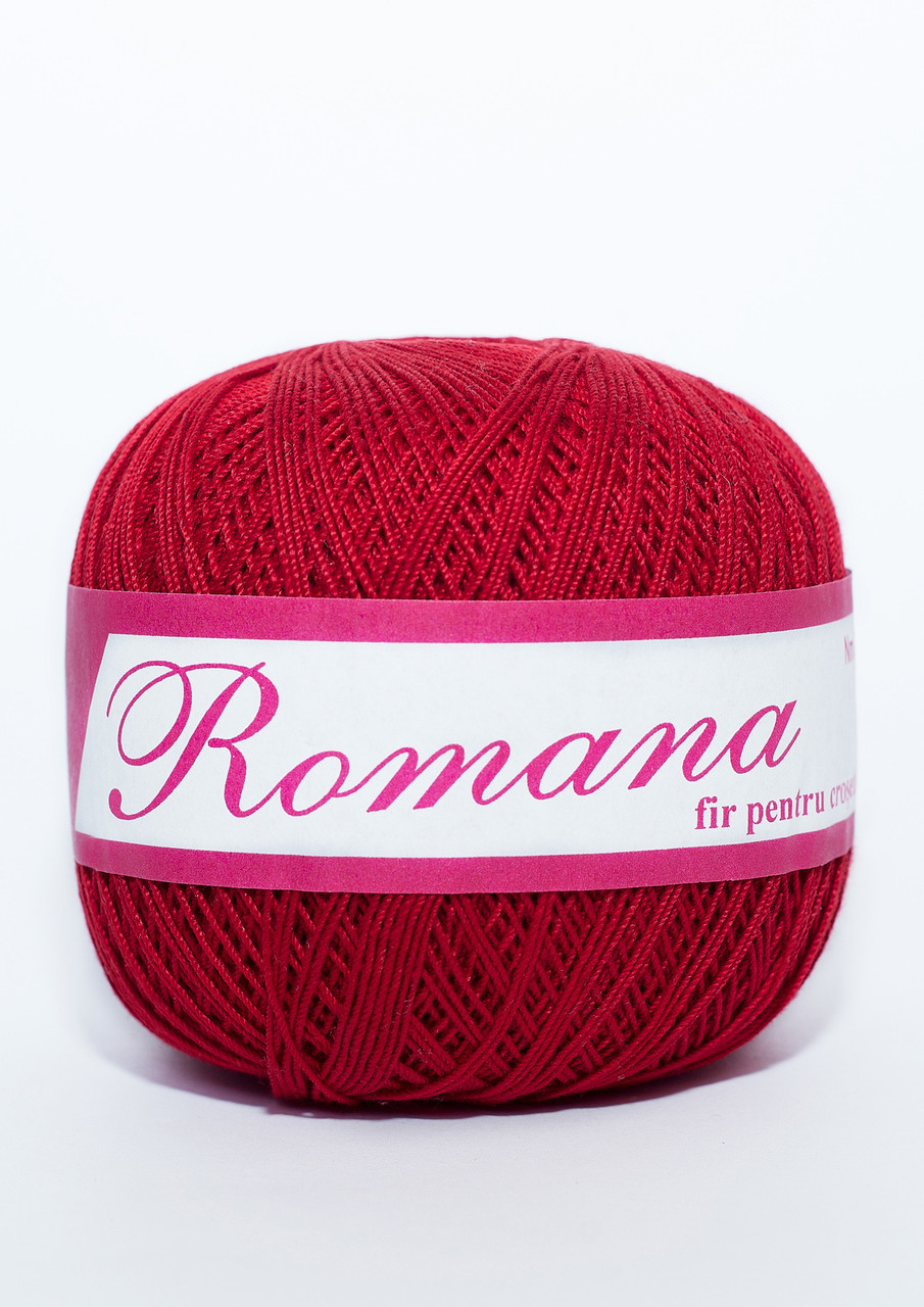 Пряжа Romanofir Romana 1333 красный