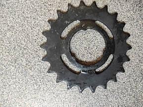 Велосипедная звезда задняя 21 зуб., фото 2