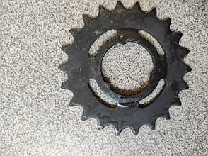 Велосипедная звезда задняя 21 зуб.