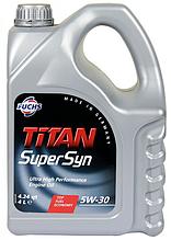 Моторное масло Fuchs TITAN SUPERSYN 5W30 4л
