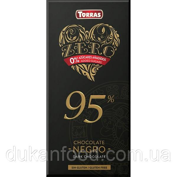 Torras Черный шоколад 95%, без сахара