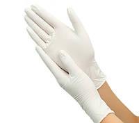 Перчатки латексные опудренные размер L, 100 шт.