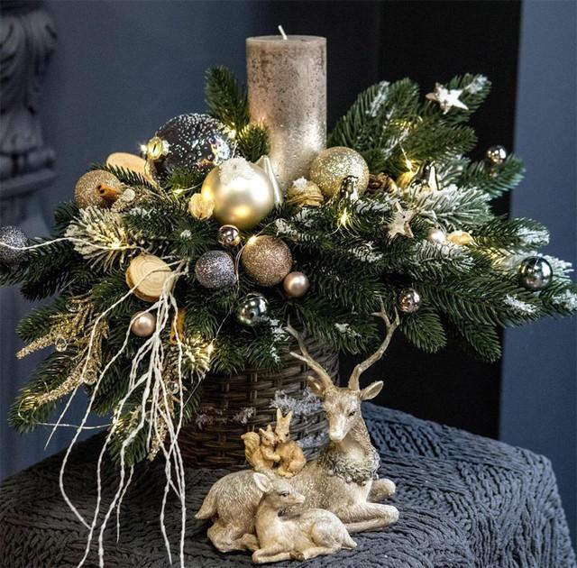 Новорічні та Різдвяні вінки
