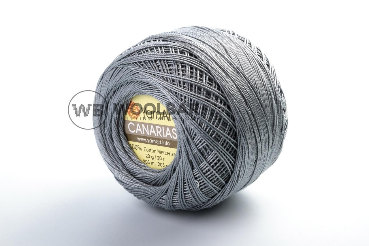 Пряжа YarnArt Canarias 5326 темно-серый