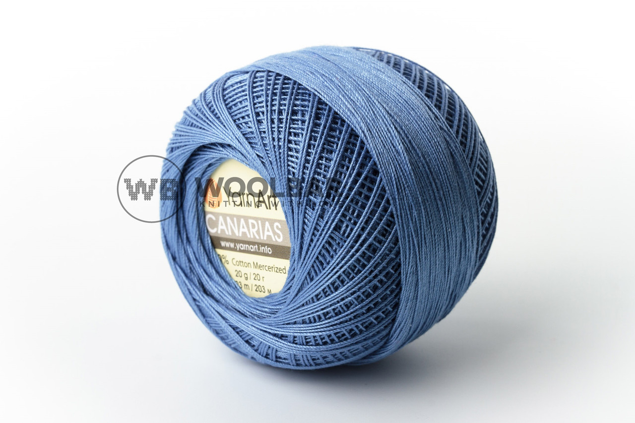 Пряжа YarnArt Canarias 5351 синий