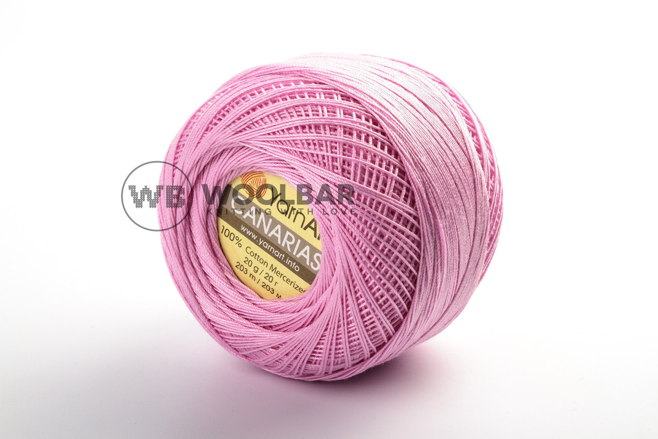 Пряжа YarnArt Canarias 6313 розовый