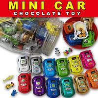 """Яйцо шоколадное Кинг """"King Egg"""" Mini Car. 60шт/8 гр"""