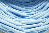 Трикотажная пряжа Bobilon 3-5 мм (micro) 4 карамель, фото 10