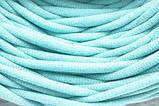 Трикотажная пряжа Bobilon 3-5 мм (micro) 30 мята, фото 9