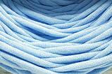 Трикотажная пряжа Bobilon 3-5 мм (micro) 30 мята, фото 10