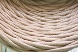 Трикотажная пряжа Bobilon 3-5 мм (micro) 52 серый меланж, фото 7