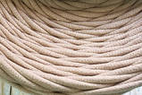 Трикотажная пряжа Bobilon 3-5 мм (micro) 53 серая мышка, фото 7