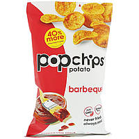 Popchips, Картопляні чіпси, барбекю, 5 унц. (142 м)