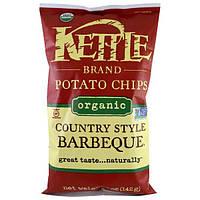 Kettle Foods, Органічні картопляні чіпси, сад в стилі кантрі, 5 унцій (142 м)