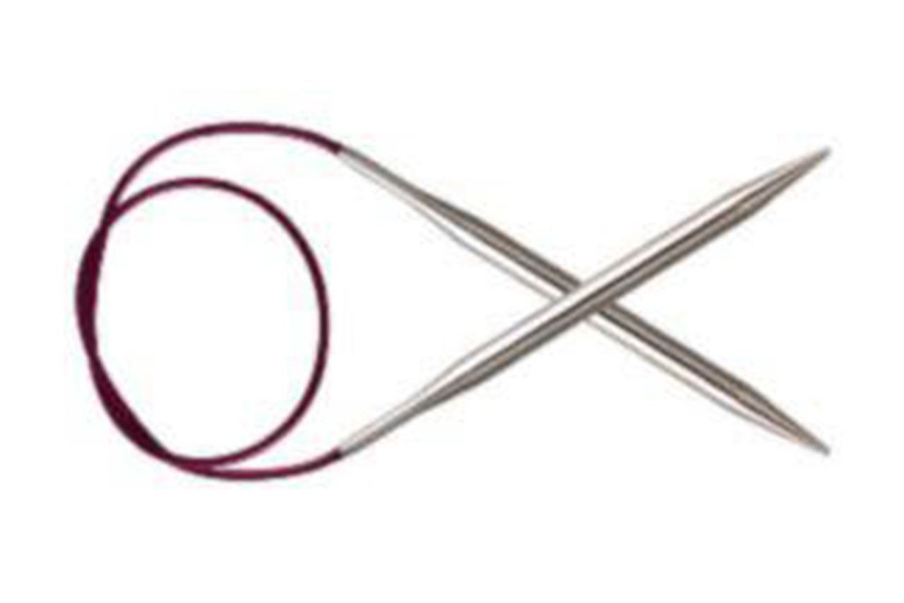 KnitPro Nova Metal спицы круговые, 3.50 мм, 60 см (11320)