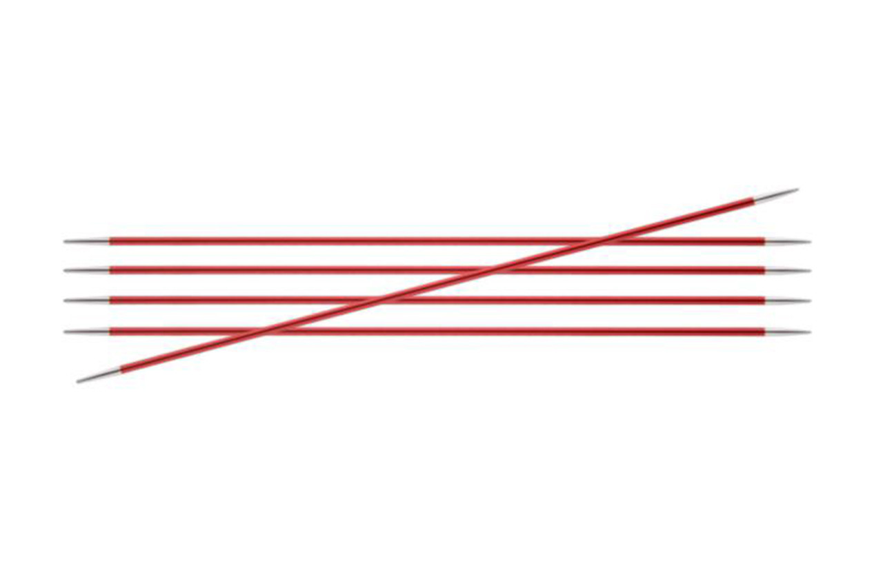 KnitPro Zing Спицы носочные 2.5 мм, 20 см (47033)