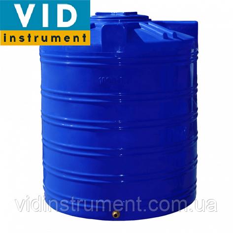 Емкость вертикальная двухслойная 300 литров, фото 2