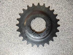 Велосипедная звезда задняя 24 зуб.