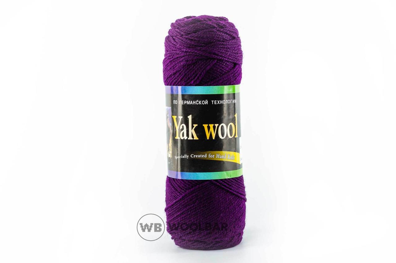 Пряжа Color City Yak wool 2248 темно-фиолетовый
