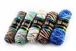Пряжа Color City Yak wool 939 голубой меланж, фото 3