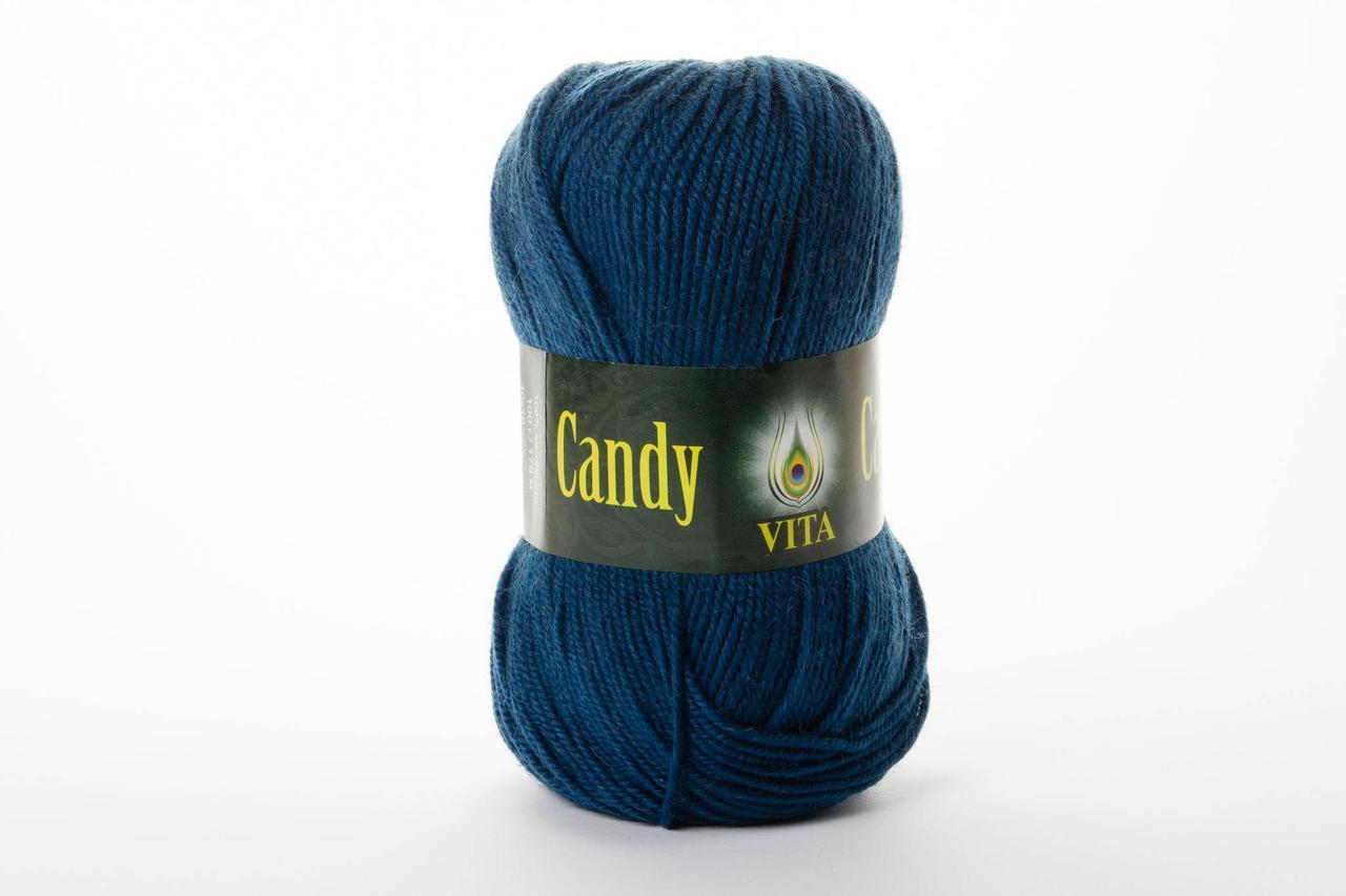 Пряжа Vita Candy 2507 джинс