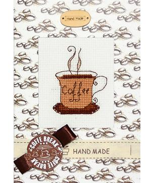 """Luca-S набір для виготовлення листівки """"Перерва на каву"""" (S)P-14"""