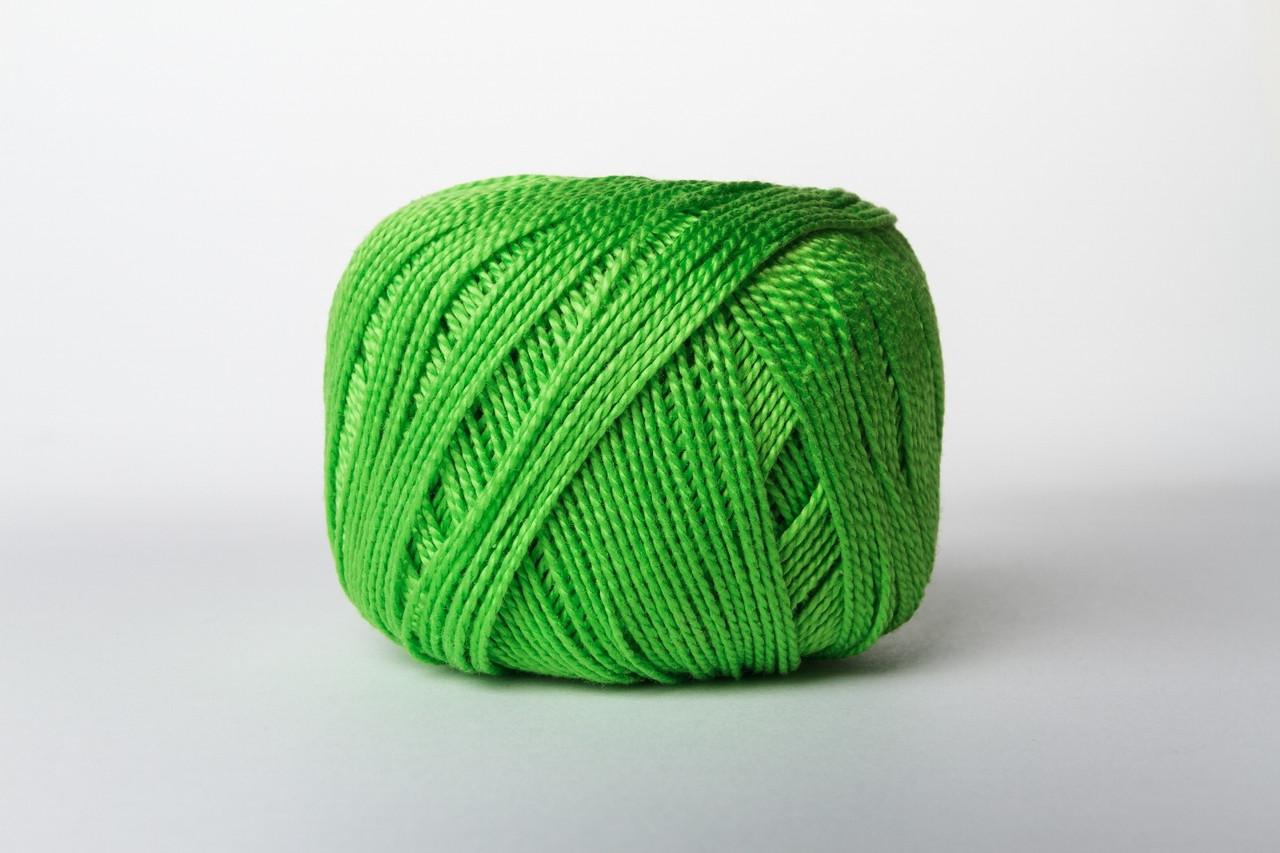Пряжа Vita Cotton IRIS 2107 яркий травяной
