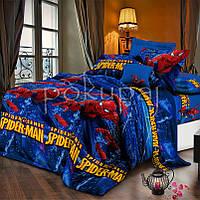 Детское постельное белье полуторное односпальное TM Krispol 150*220 человек паук 164538 с